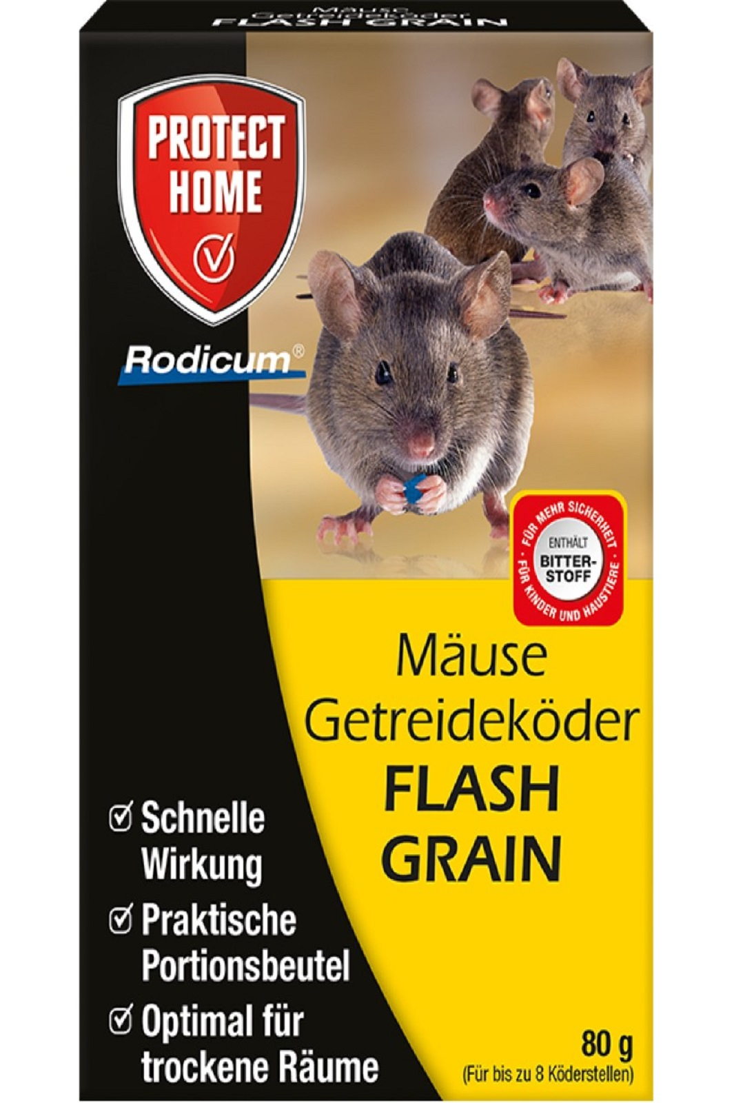 Protect Home Mäuse Getreideköder Flash Grain