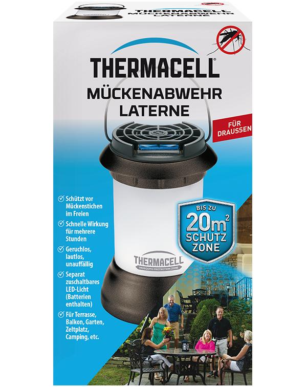 Thermacell Mückenabwehr Laterne Mückenschutz für Außen