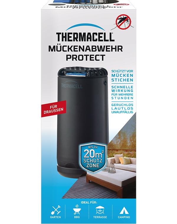 Thermacell Mückenabwehr Protect Graphit  Mückenschutz für Außen