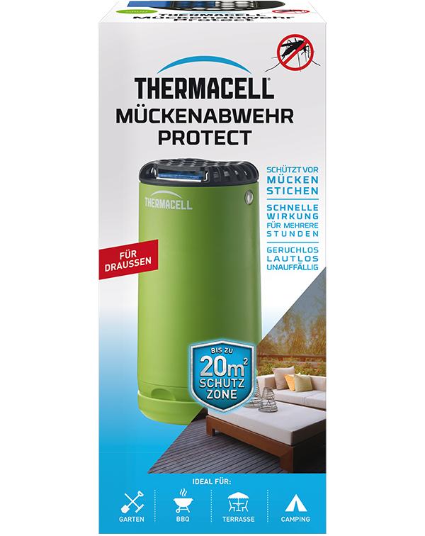 Thermacell Mückenabwehr Protect grün Mückenschutz für Außen