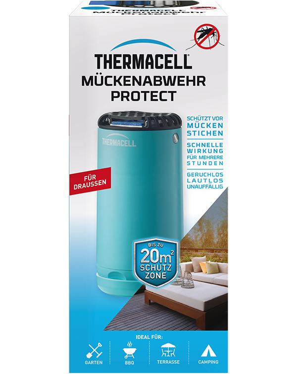 Thermacell Mückenabwehr Protect Blau  Mückenschutz für Außen