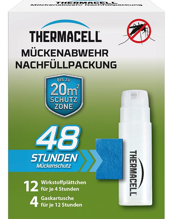 Thermacell Mückenabwehr Mückenschutz für Außen Nachfüllpack 48 Stunden