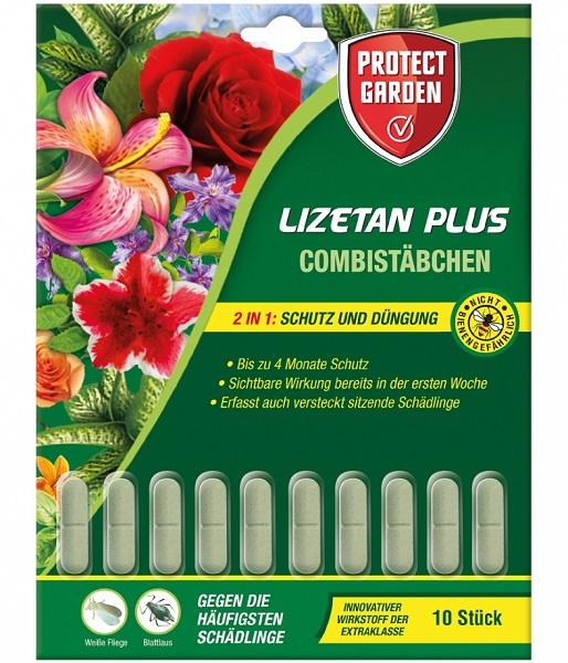 Protect Garden  Combistäbchen Lizetan Plus 10 Stück Dünger und Schutz in einem