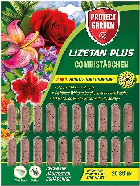 Protect Garden Combistäbchen Lizetan Plus  20 Stück Schutz und Dünger in einem