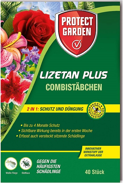 Protect Garden  Combistäbchen Lizetan Plus 40 Stück Dünger und Schutz in einem