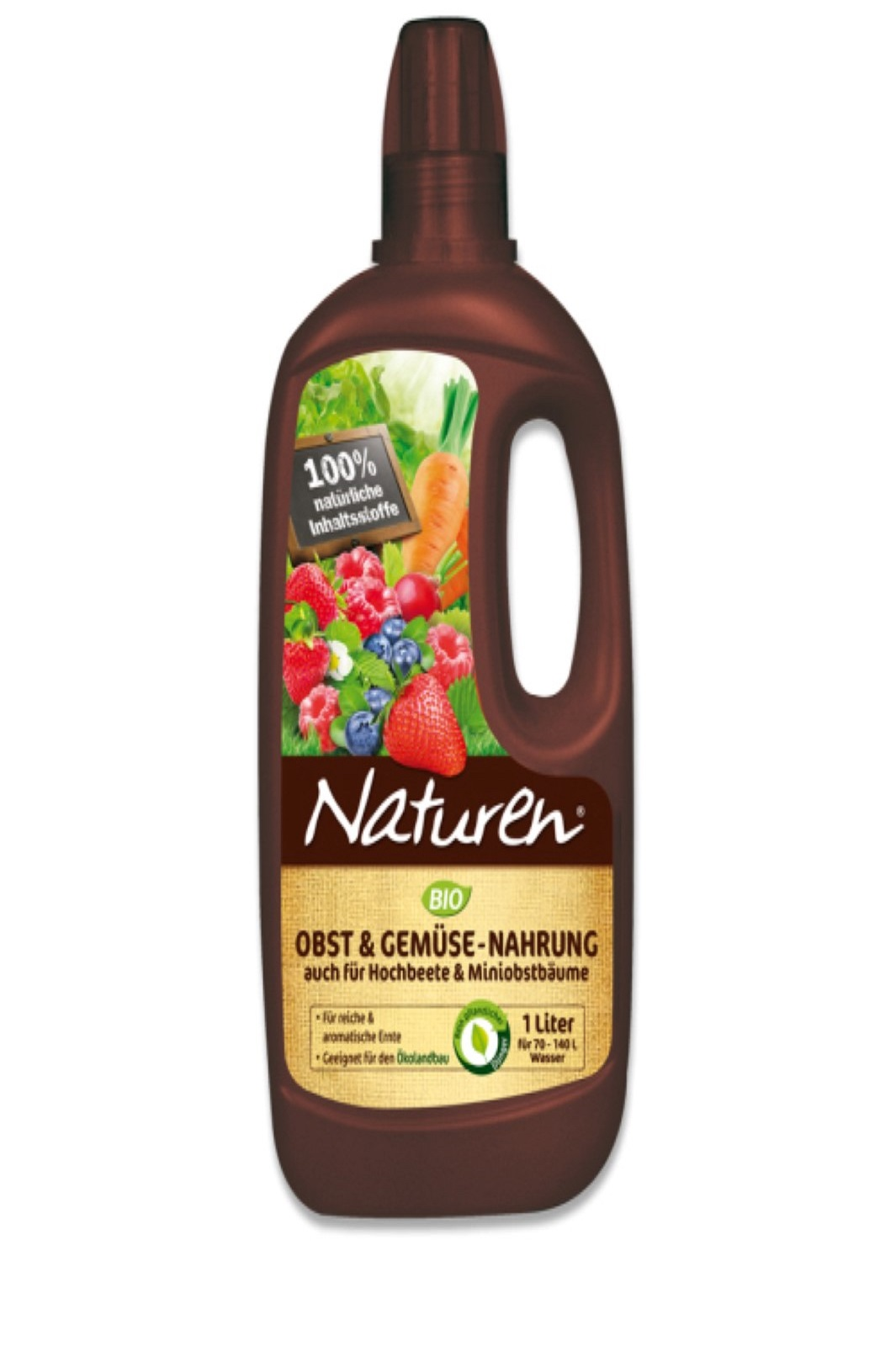 Naturen BIO Obst und Gemüse Nahrung 1 liter