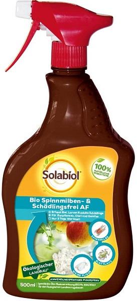 Solabiol  Bio Spinnmilben- & Schädlingsfrei 500 ml