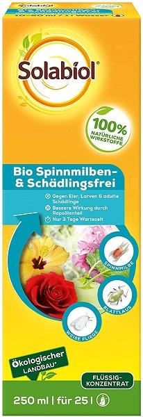Solabiol  Bio Spinnmilben- & Schädlingsfrei 250 ml