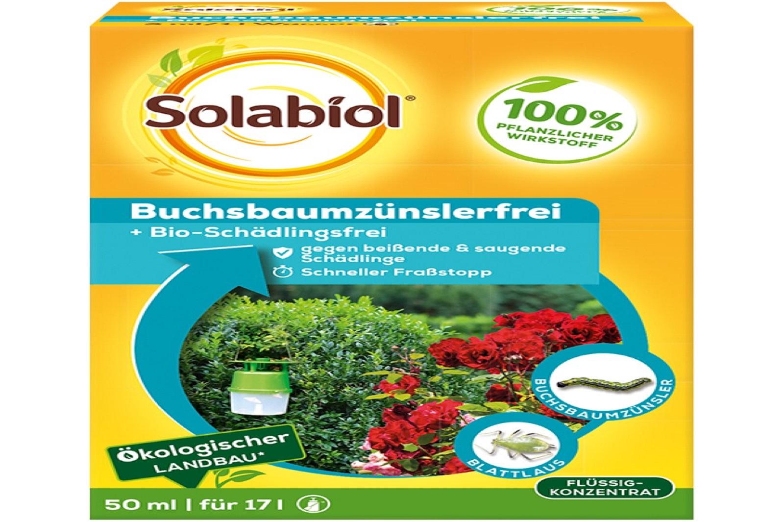Solabiol Buchsbaumzuenzlerfrei 50 ml