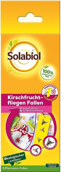Bayer Solabiol Kirschfruchtfliegenfalle 5 Stk  frei von Insektiziden