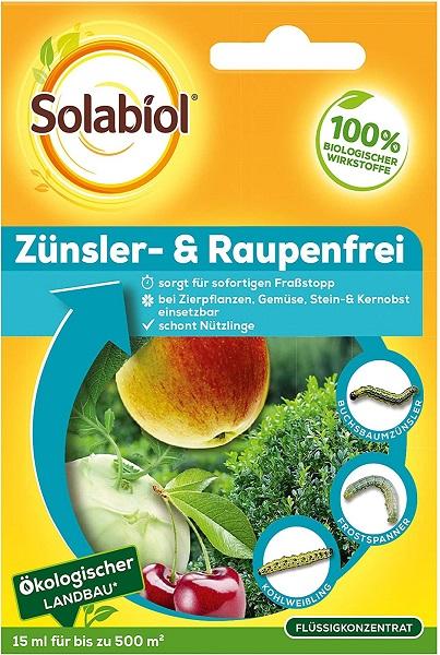 Solabiol Zünsler- & Raupenfrei 15 ml