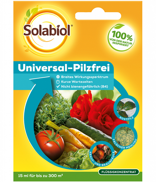 Solabiol  Universal-Pilzfrei 15 ml wirksam gegen viele Pilzkrankheiten