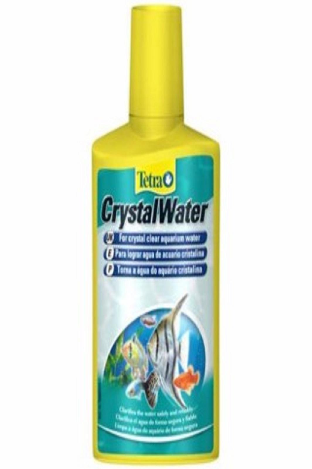 Tetra Crystal Water 250 ml für kristallklares Aquarium Wasser