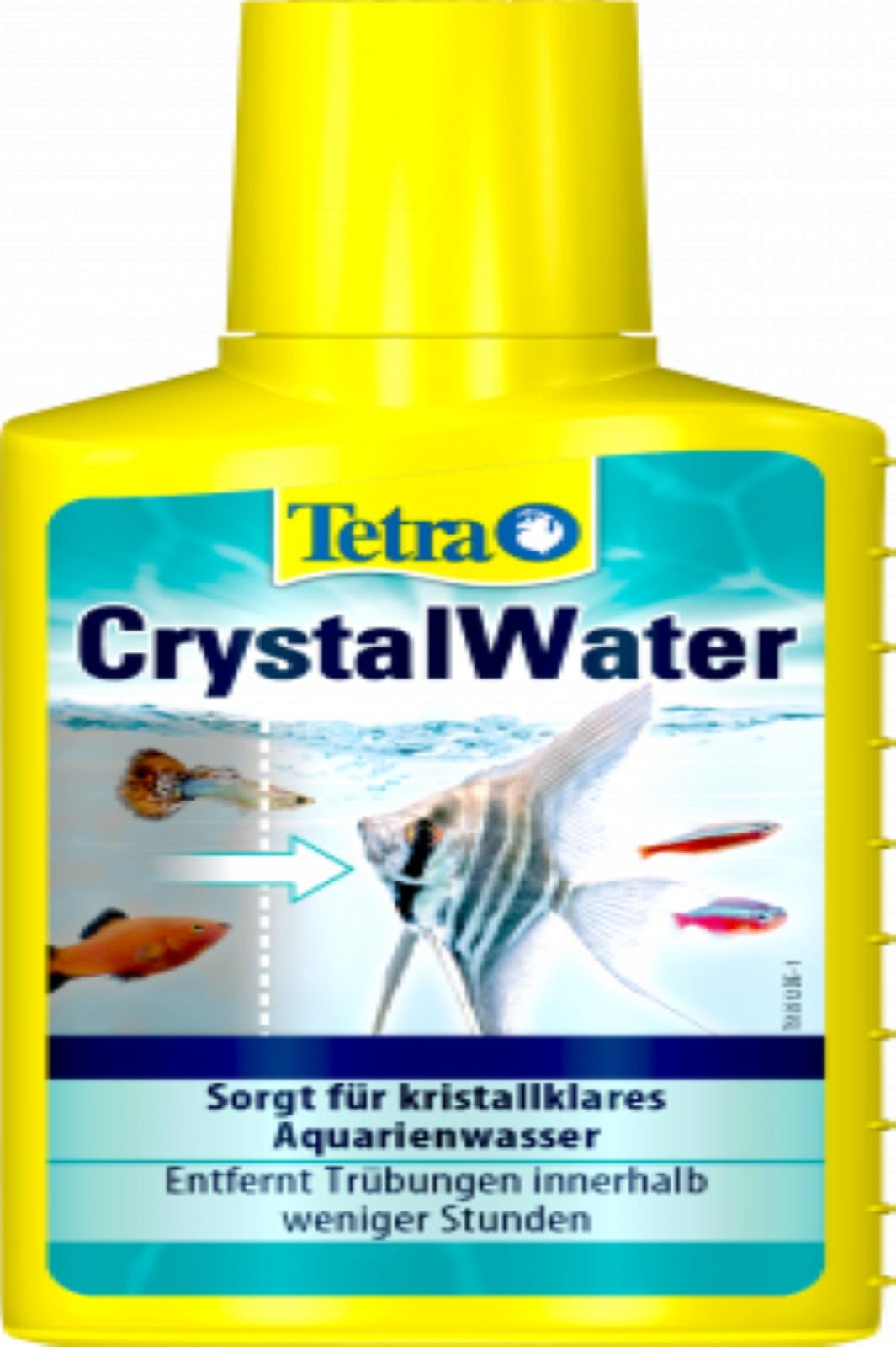 Tetra Crystal Water 100 ml für kristallklares Aquarium Wasser