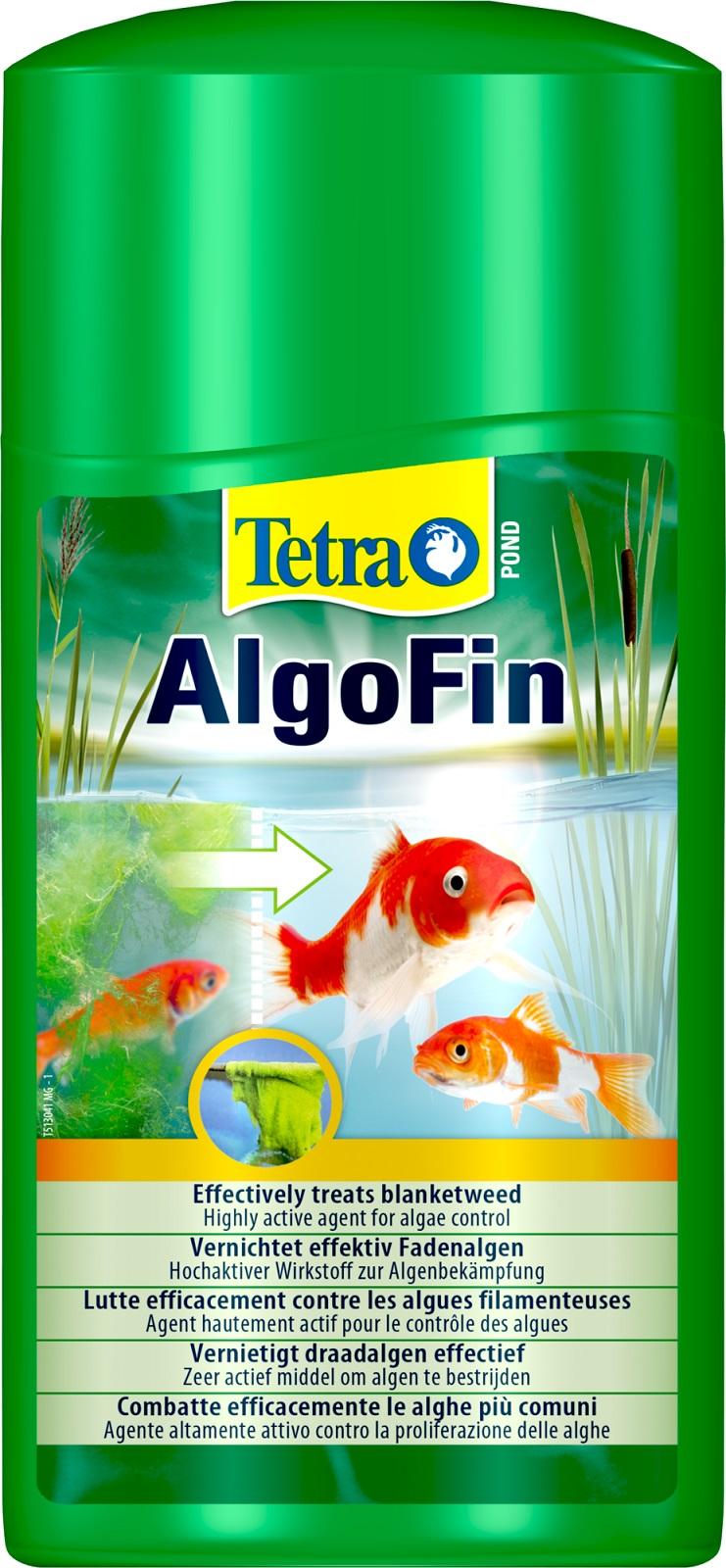 Tetra Pond AlgoFin gegen Fadenalgen Schwebealgen im Gartenteich 1 Liter