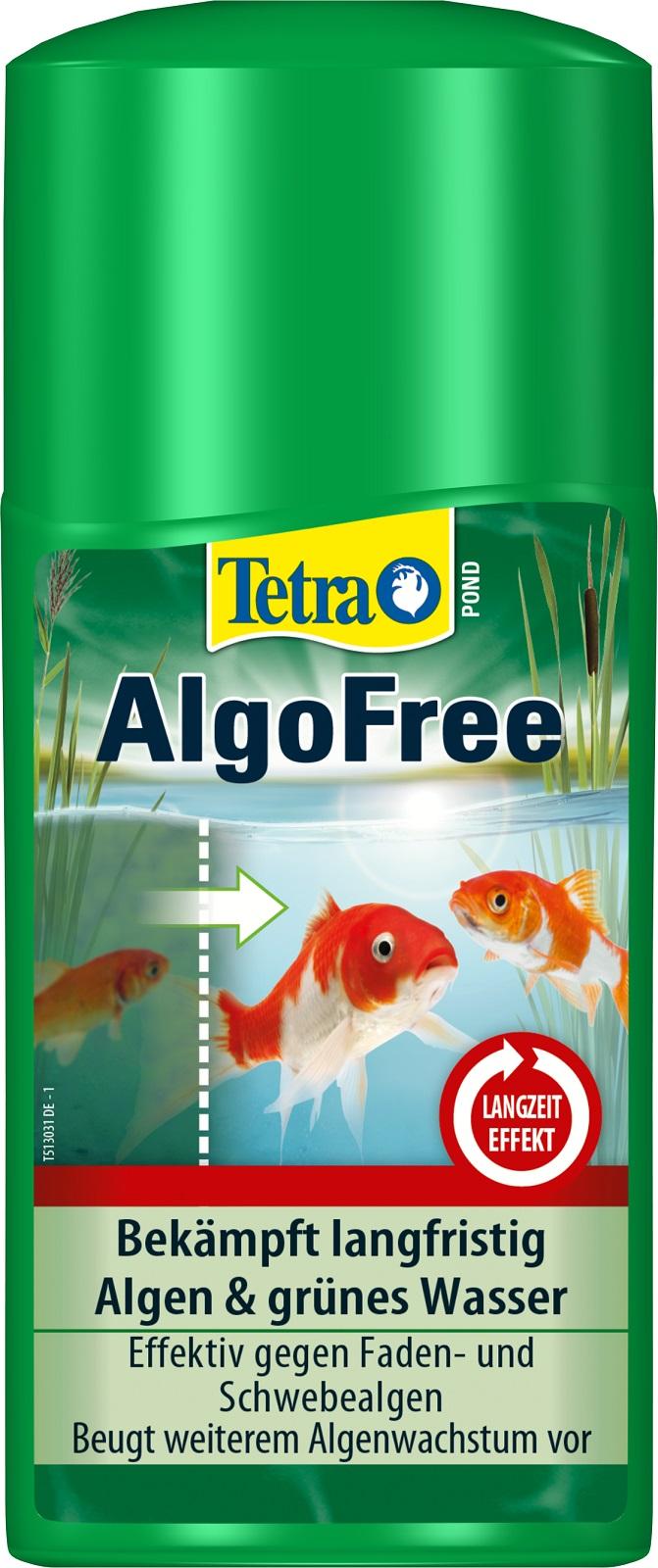 Tetra Pond AlgoFree Algenmittel gegen Schwebealgen und grünes Wasser 250 ml
