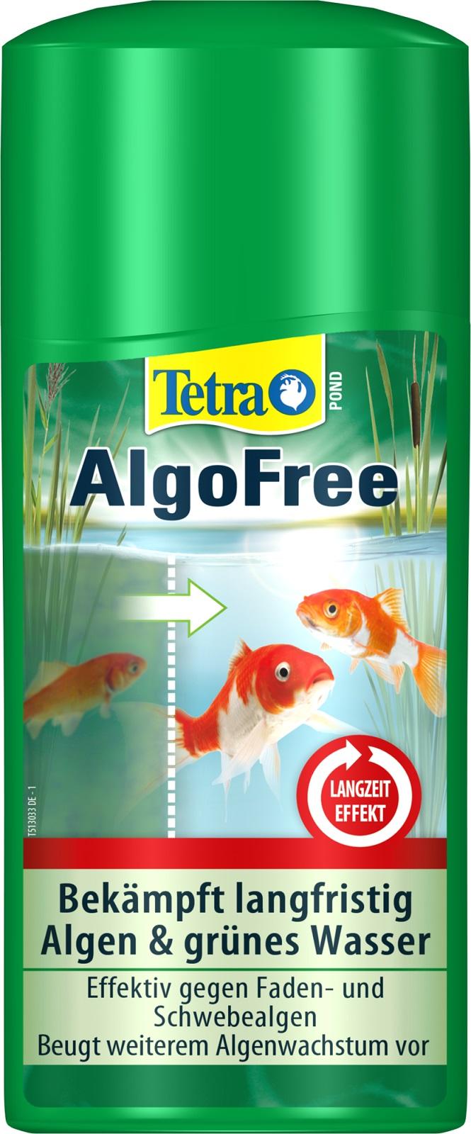 Tetra Pond AlgoFree Algenmittel gegen Schwebealgen und grünes Wasser  500 ml