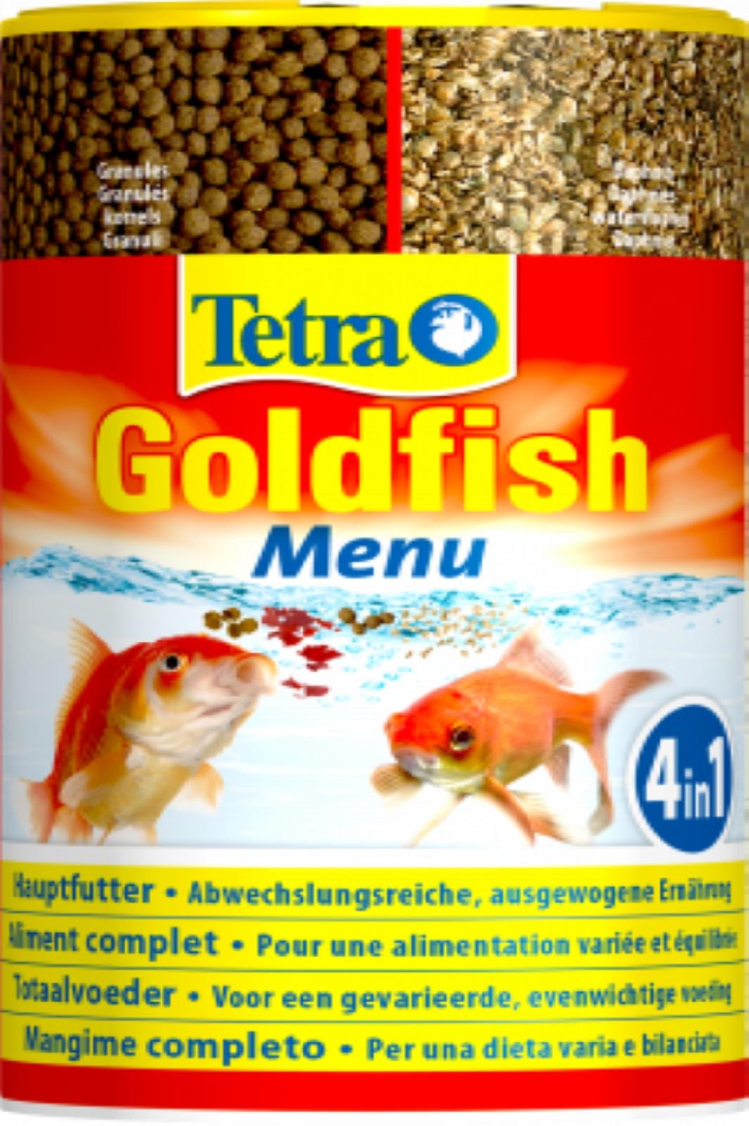 Tetra Goldfish Menu 250 ml Hauptfutter für alle Goldfische