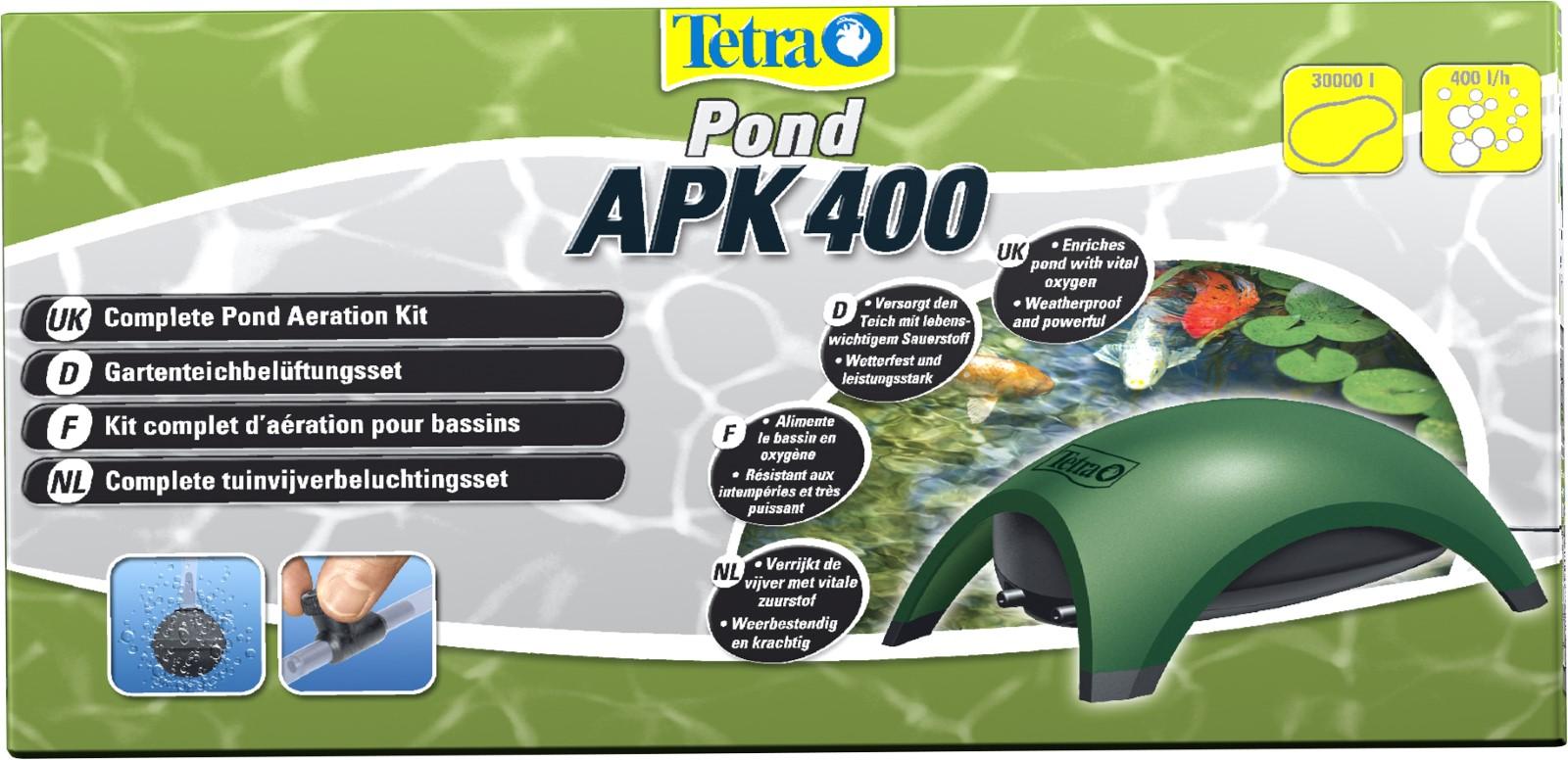 Tetra Pond APK 400 Gartenteichbelüftungsset ganzjährig Sauerstoffversorgung