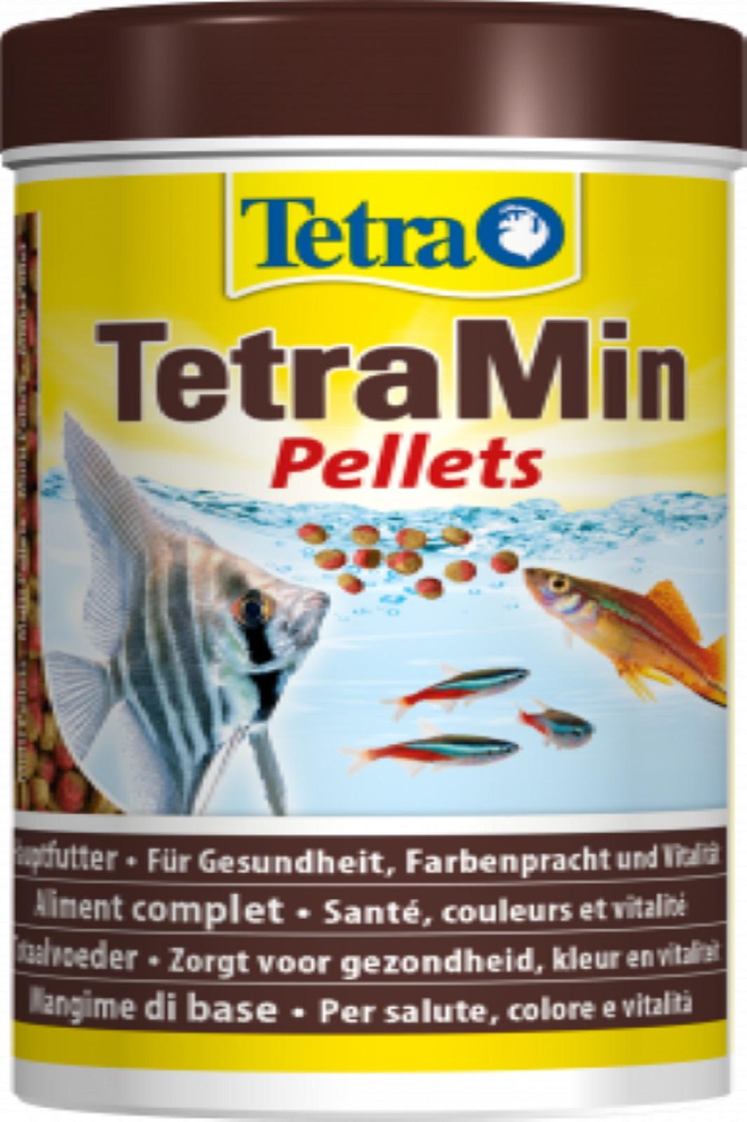 Tetra Min Pettets Fischfutter für  Zierfische 250 ml