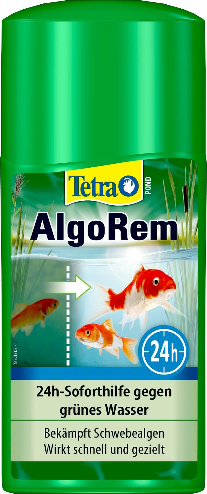 Tetra Pond AlgoRem 24 Std Soforthilfe gegen grünes Wasser Algenmittel 250 ml