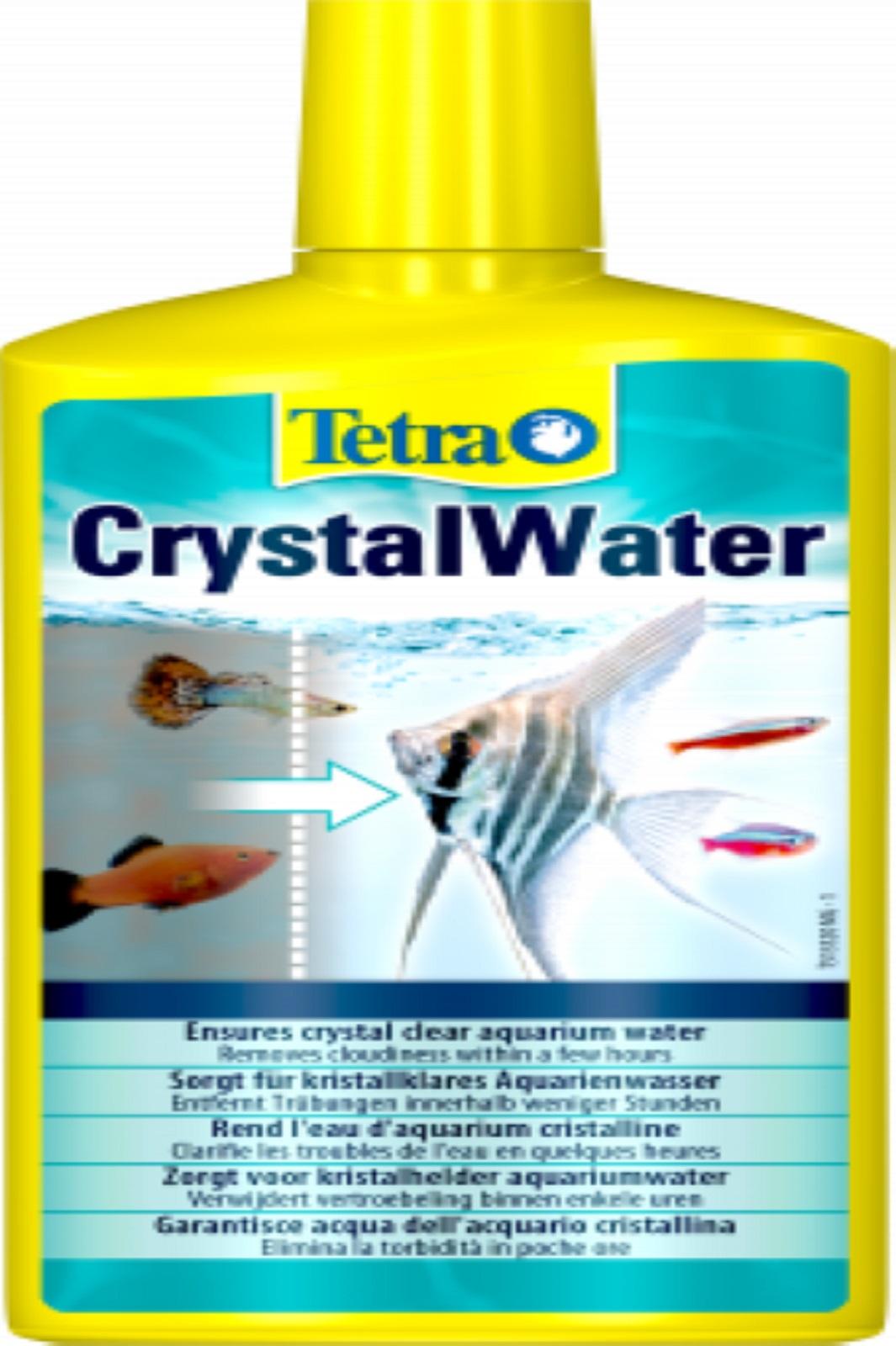 Tetra Crystal Water 500 ml für kristallklares Aquarium Wasser
