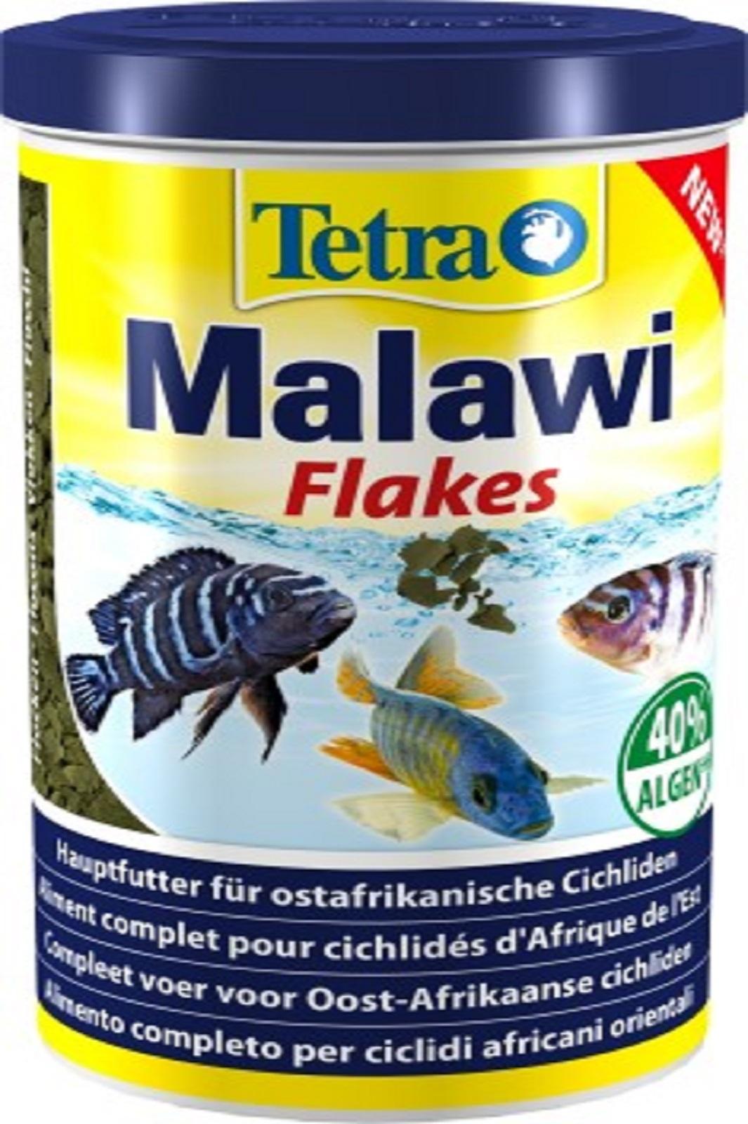Tetra Malawi Flakes 1 l Fischfutter für Zierfische Flockenfutter