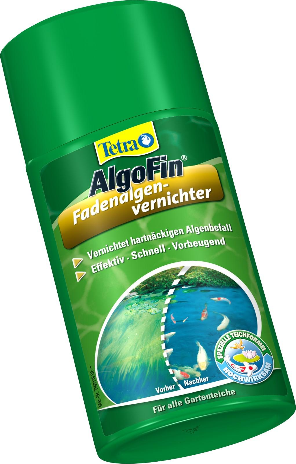 Tetra Pond AlgoFin gegen Fadenalgen Schwebealgen  im Gartenteich 500 ml