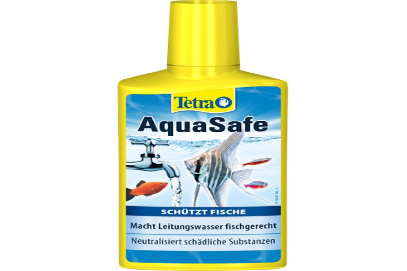 Tetra  Aqua Safe 250 ml  Wasserpflege macht Leitungswasser fischgerecht Aquarium