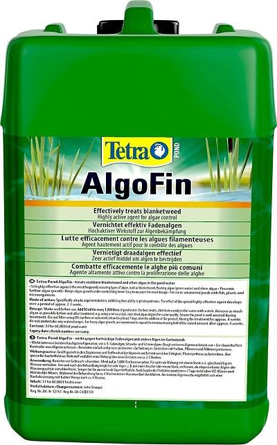 Tetra Pond AlgogeFin gegen Fadenalgen Schwebealgen  im Gartenteich 3 Liter