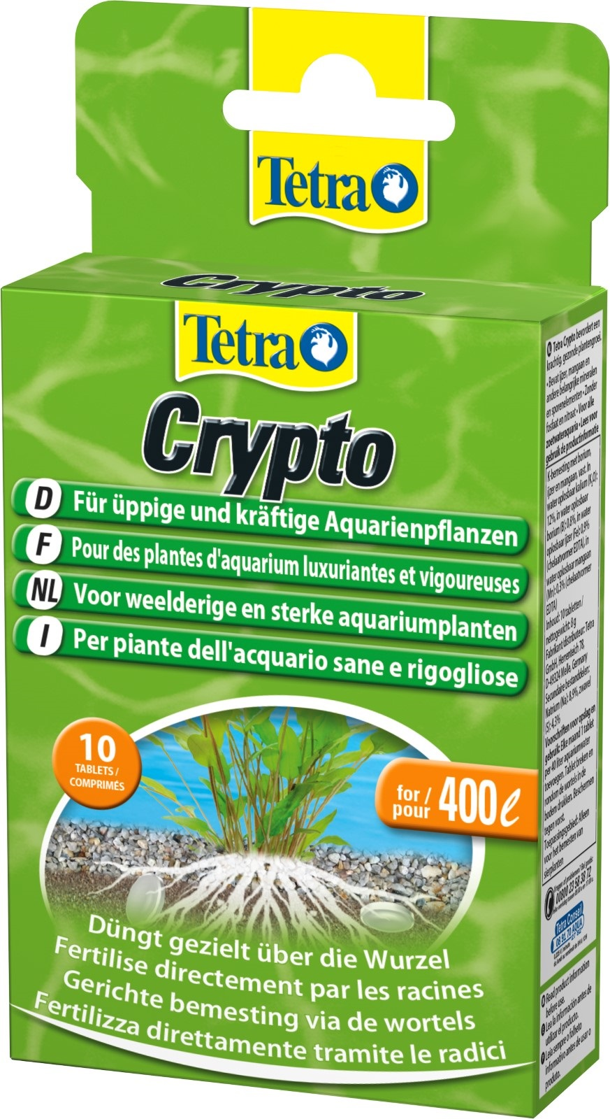 Tetra Crypto 10 Tabletten Düngetabletten  für Wasserpflanzen