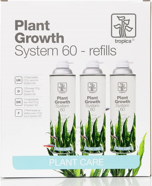 Tropica Plant Growth System 60 refills CO2 - 3 Dosen