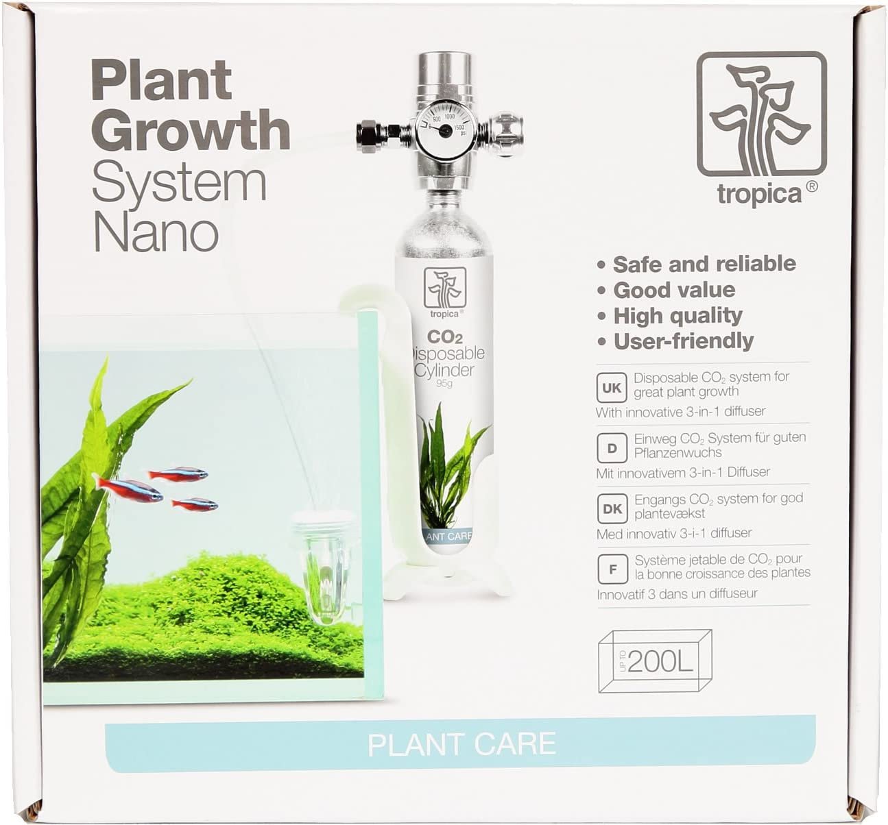 Tropica Plant Growth System Nano CO2