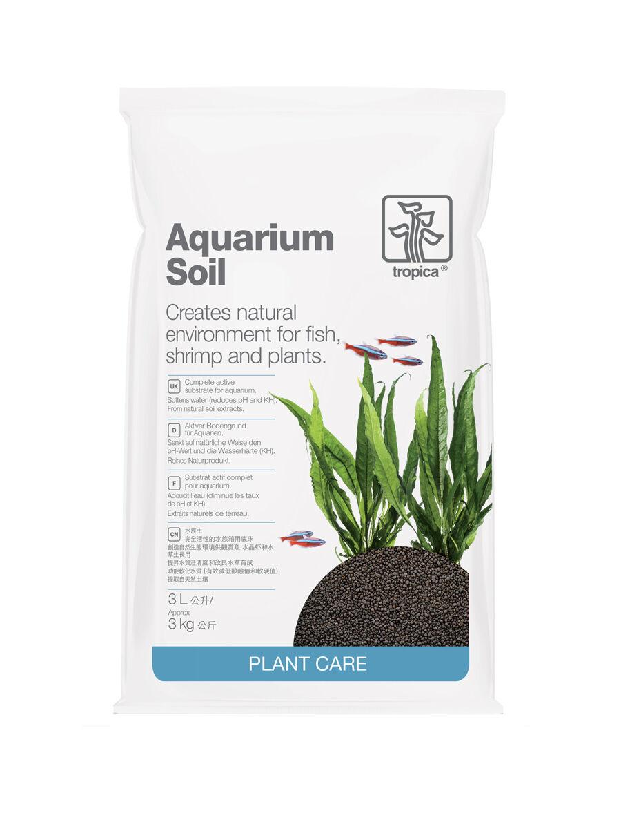 Tropica Aquarium Soil, kompetter Bodengrund, 3 Liter