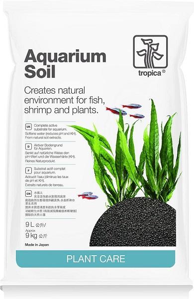 Tropica Aquarium Soil, kompletter Bodengrund, 9 Liter