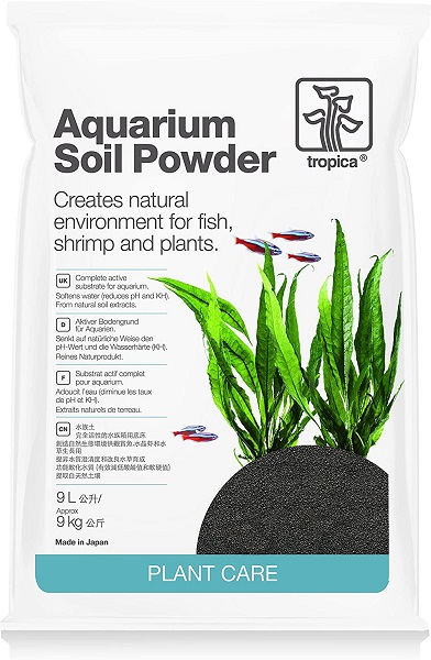 Tropica Aquarium Soil Powder, 9 Liter